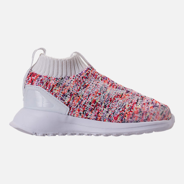 best deals on 5fe1b 086dd Right view of Kids  Toddler adidas RapidaRun Laceless Knit Running Shoes in  Footwear White