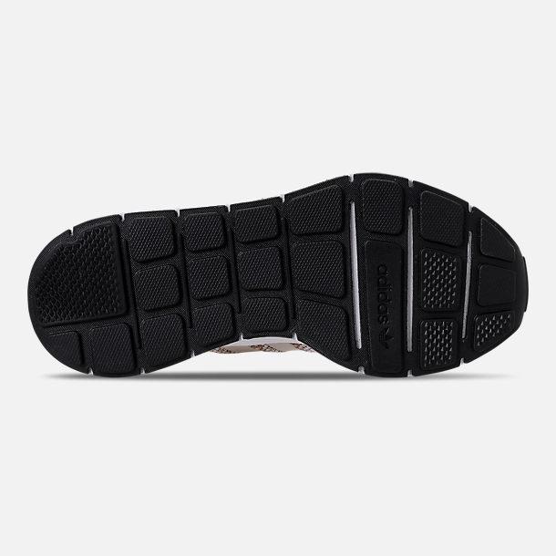 37097cd0b Bottom view of Boys  Big Kids  adidas Swift Run Casual Shoes in Cardboard