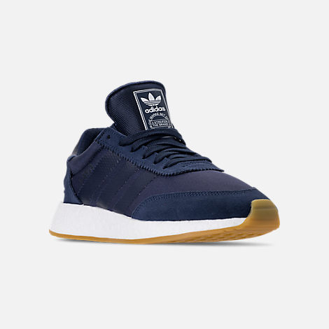 25515628fe2 Three Quarter view of Men s adidas I-5923 Runner Casual Shoes in Collegiate  Navy