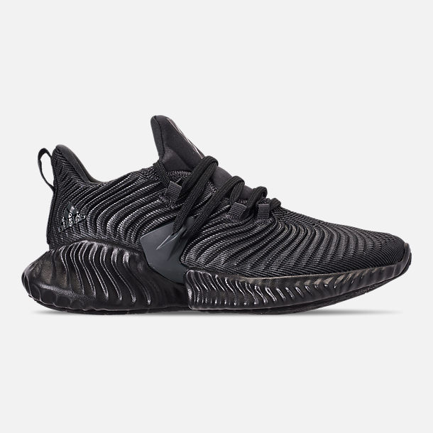 94a5490ac9742 Right view of Boys  Big Kids  adidas AlphaBounce Instinct Running Shoes in  Carbon