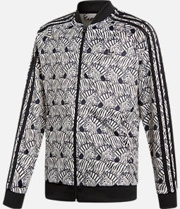 Girls' adidas Zebra SST Full-Zip Track Jacket