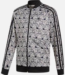 Girls' adidas Zebra SST Full-Zip Track Jacket
