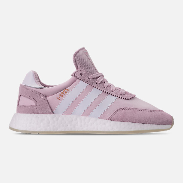 Right view of Women's adidas I-5923 Runner Casual Shoes in Aero Pink/White