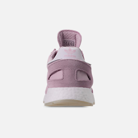 Back view of Women's adidas I-5923 Runner Casual Shoes in Aero Pink/White