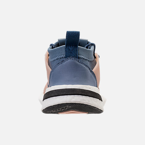 Back view of Women's adidas Originals Arkyn Boost Casual Shoes in Raw Steel/Ash Grey/Pearl
