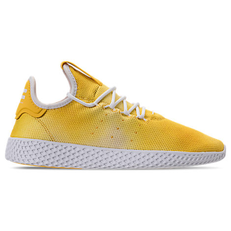 Adidas Originals Adidas Men S Originals Pharrell Williams Tennis Hu Casual  Sneakers From Finish Line In Yellow c6d22a0a1a7