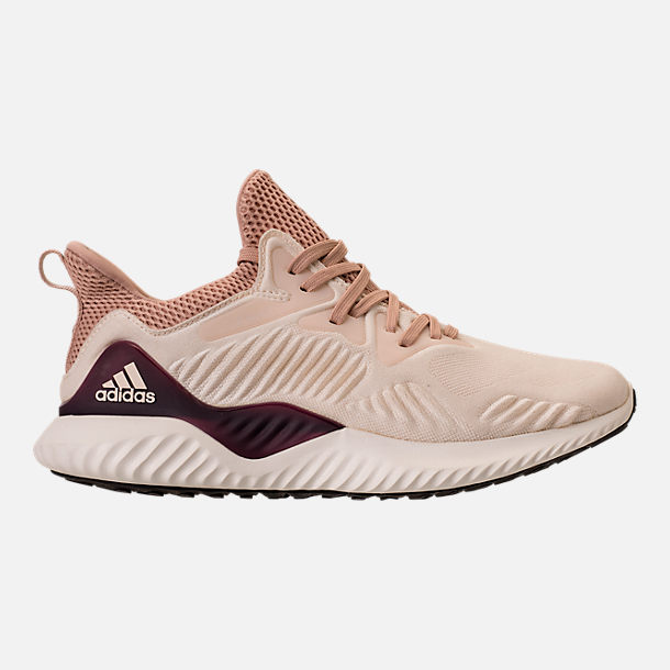 Right view of Women's adidas AlphaBounce Beyond Running Shoes in Ecru Tint/Ash Pearl/Ash Pearl