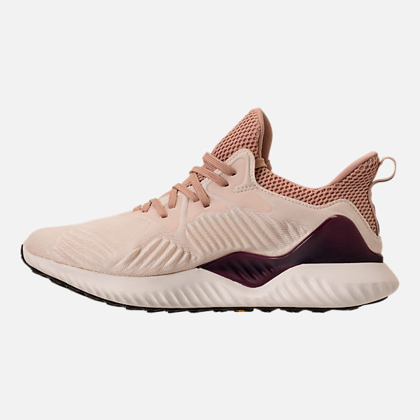 Left view of Women's adidas AlphaBounce Beyond Running Shoes in Ecru Tint/Ash Pearl/Ash Pearl