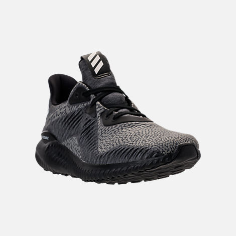 Three Quarter view of Women's adidas AlphaBounce HPC AMS Running Shoes in Black