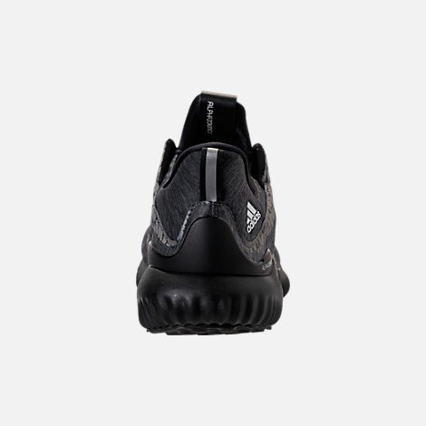 Back view of Women's adidas AlphaBounce HPC AMS Running Shoes in Black