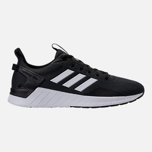 Right view of Men's adidas Questar Ride Running Shoes in Core Black/White/Carbon