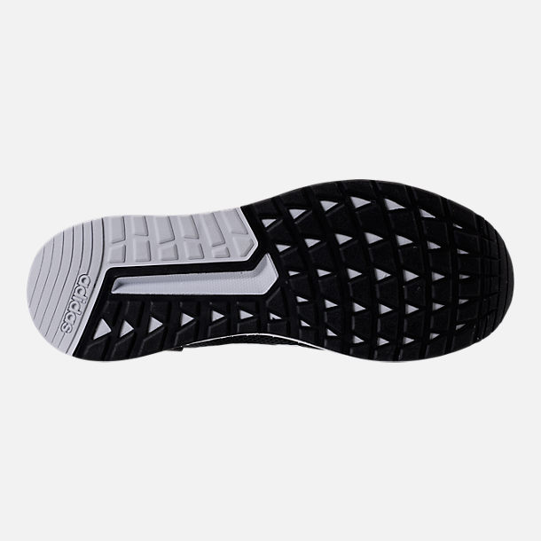 Bottom view of Men's adidas Questar Ride Running Shoes in Core Black/White/Carbon