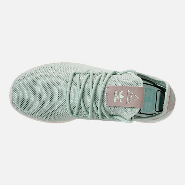 0c96ab29d4cb Top view of Women s adidas Originals Pharrell Williams Tennis HU Casual  Shoes in Ash Green