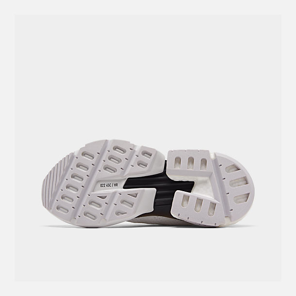 Bottom view of Boys' Big Kids' adidas Originals POD-S3.1 Casual Shoes in White/White/Solar Orange