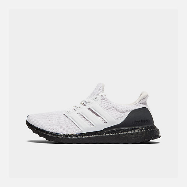 Right view of Men's adidas UltraBOOST Running Shoes in Orchid Tint S18/Footwear White/Core Black