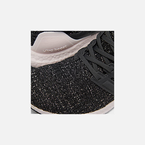 5d404361d990e Front view of Women s adidas UltraBOOST 4.0 Running Shoes in Core Black  Carbon Orchid