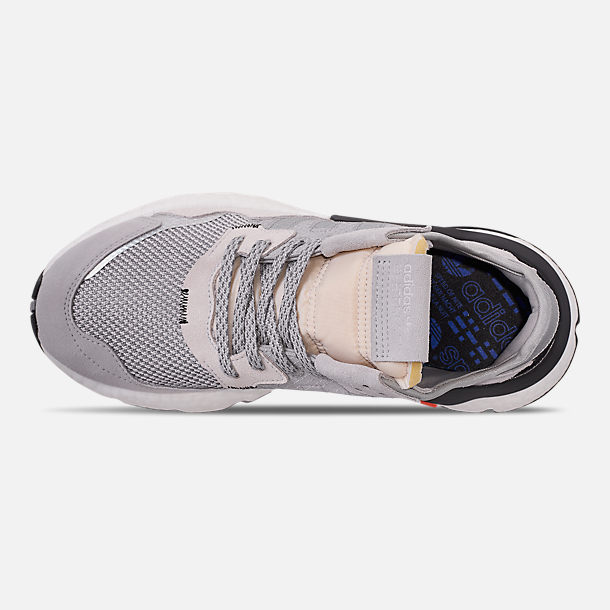 meet 4caa3 d232e Top view of Men s adidas Originals Nite Jogger Casual Shoes in Grey Two F17  MGH