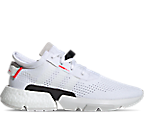 Footwear White/Shock Red