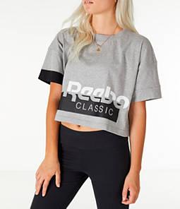 Women's Reebok Classics Crop T-Shirt