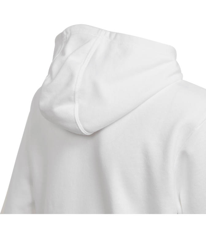Product 3 view of Kids' adidas Originals Trefoil Hoodie in White/Black