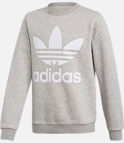 Kids' adidas Originals Trefoil Crew Sweatshirt