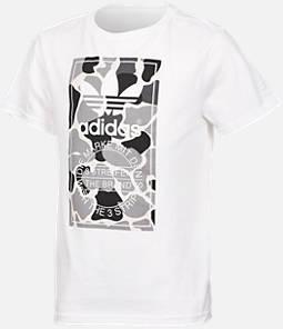Boys' adidas Camo Trefoil T-Shirt