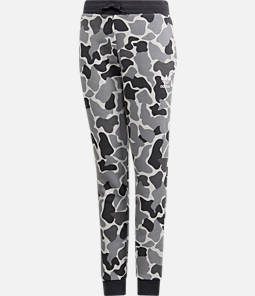 Boys' adidas Camo Trefoil Sweatpants