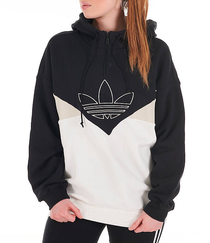 51c0866c Front view of Women's adidas Originals CLRDO OG Hoodie in Black