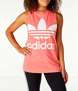 Women s adidas Originals Trefoil Muscle Tank 9215a7884e