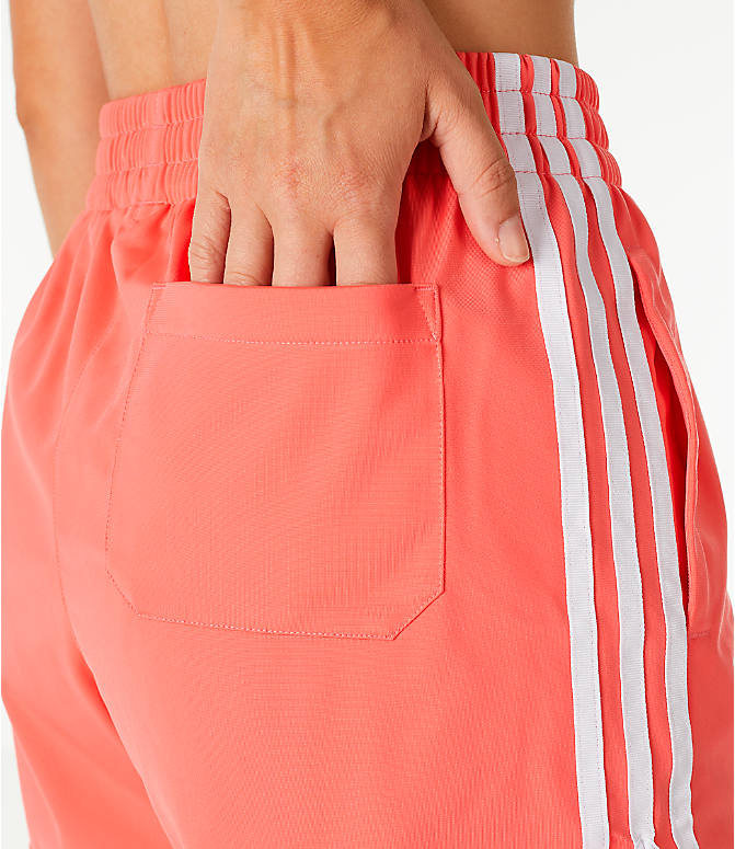 Detail 2 view of Women's adidas Originals 3-Stripes Shorts in Core Pink