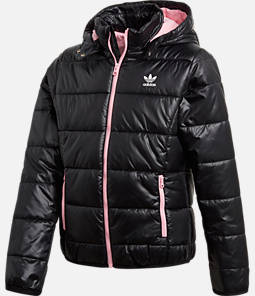 Girls' adidas Originals Trefoil Midseason Puffer Jacket