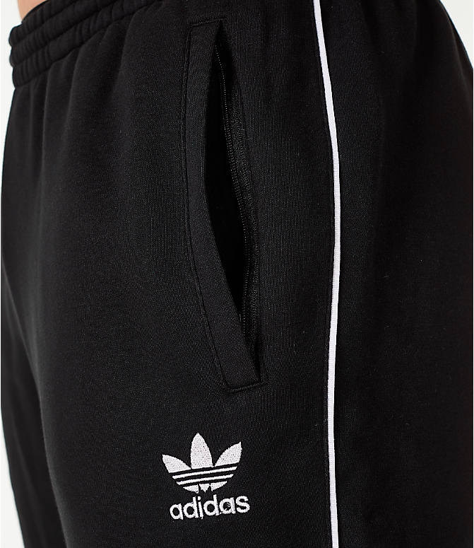 Detail 1 view of Men's adidas Originals Authentic Fleece Jogger Pants in Black