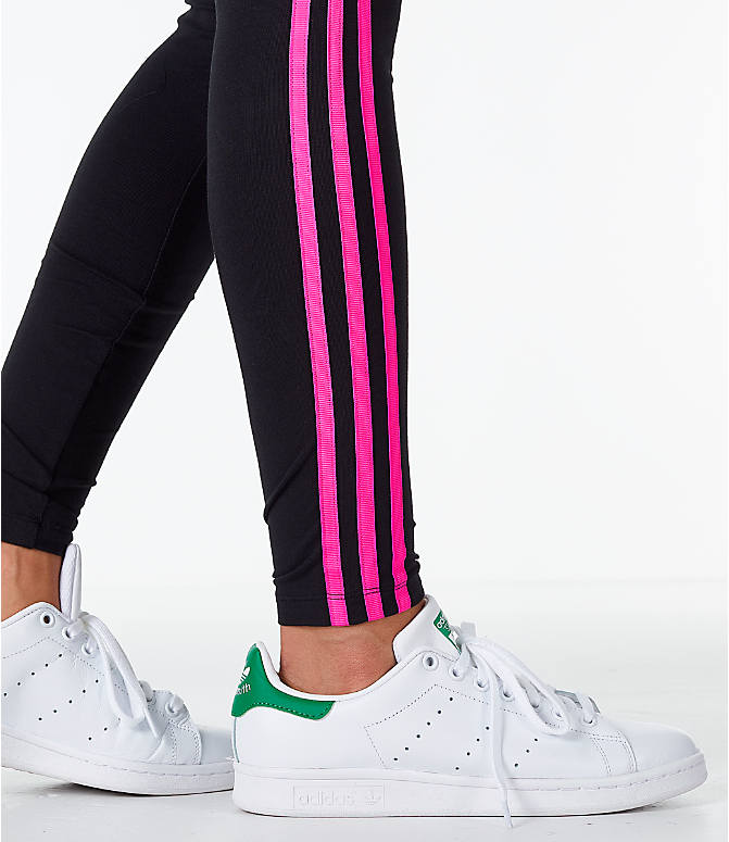 Detail 2 view of Women's adidas Originals Racing Tights in Black/Pink