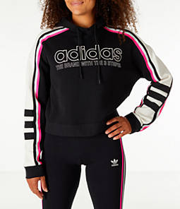 Women's adidas Originals Racing Crop Hoodie