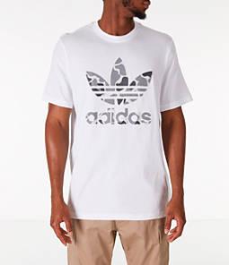 Men's adidas Originals Camouflage Trefoil T-Shirt