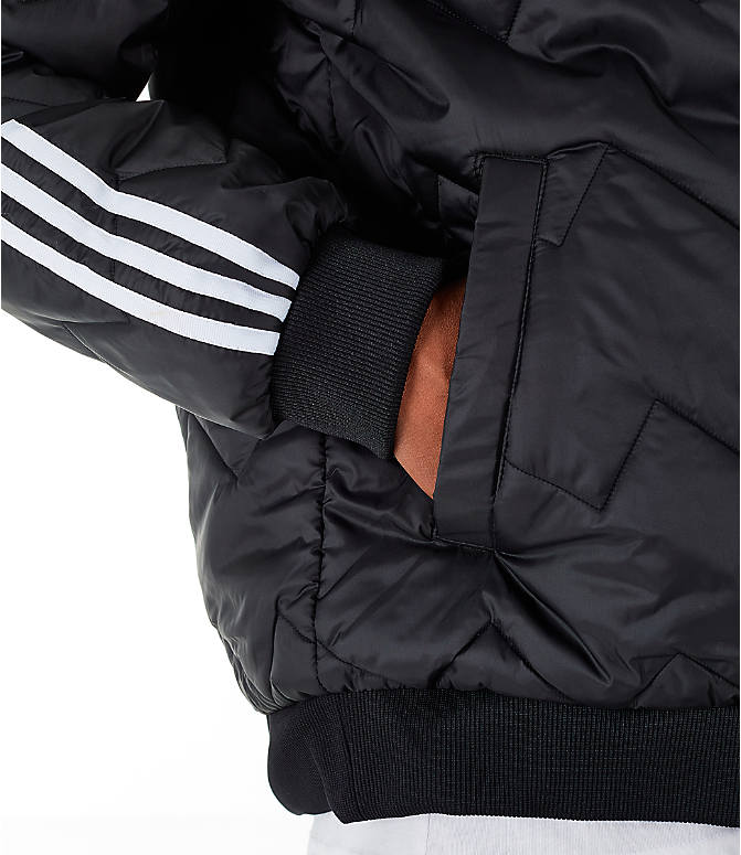 Detail 2 view of Men's adidas Originals SST Quilted Jacket in Black