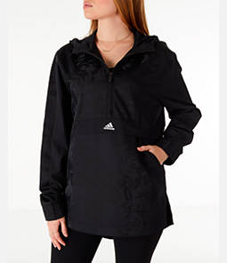 Women's adidas Athletics Rose Woven Shell Windbreaker Jacket