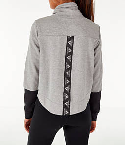 Women's adidas Turtleneck Crop Fleece Sweatshirt
