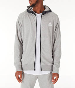 Men's adidas Sport 2 Street Lifestyle Full-Zip Hoodie