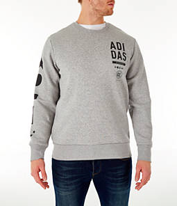 Men's adidas Athletics International Fleece Crewneck Sweatshirt