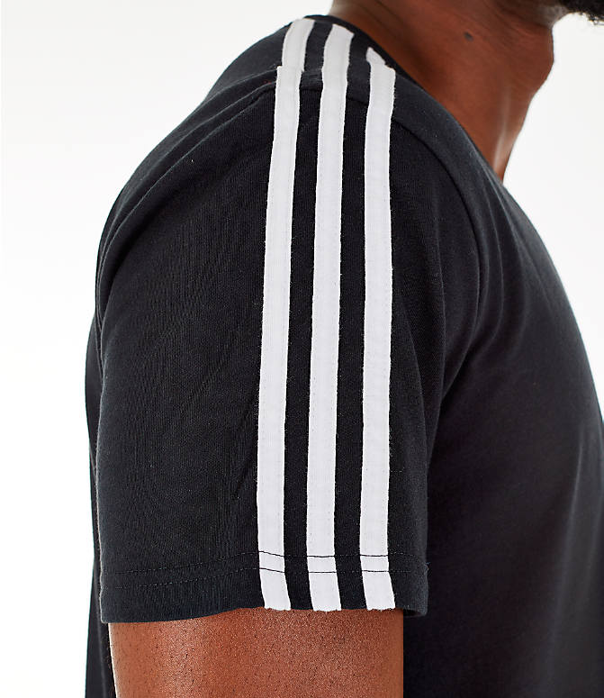 Detail 2 view of Men's adidas Classic International T-Shirt in Black