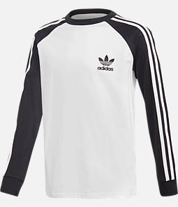 Kids' adidas Originals Cali Long-Sleeve Shirt