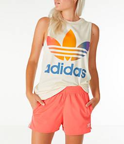 Women's adidas Originals Pride Trefoil Muscle Tank