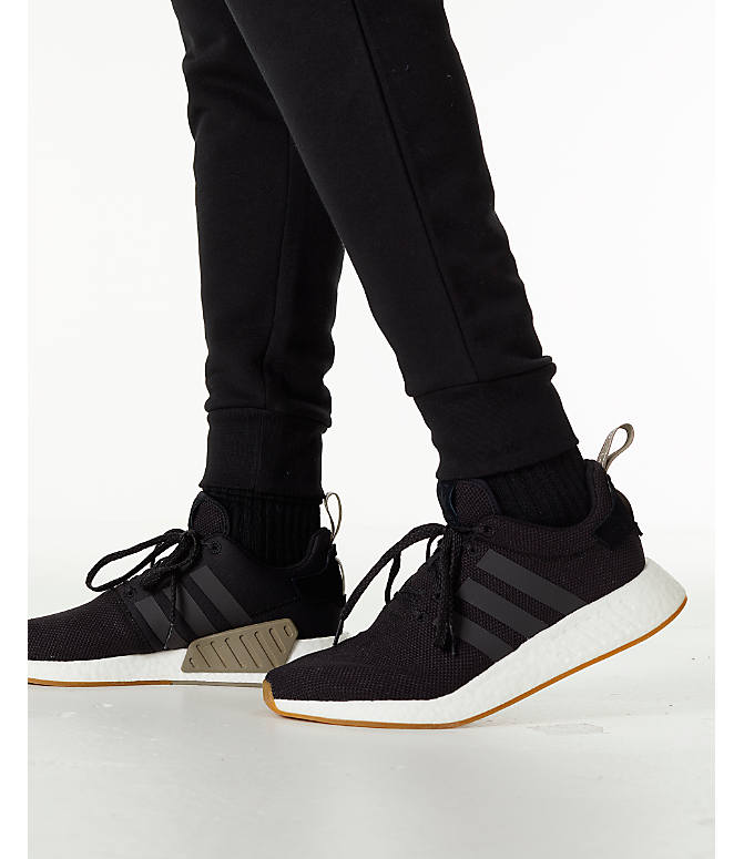 Detail 2 view of Men's adidas Originals adicolor Cuffed Jogger Pants in Black