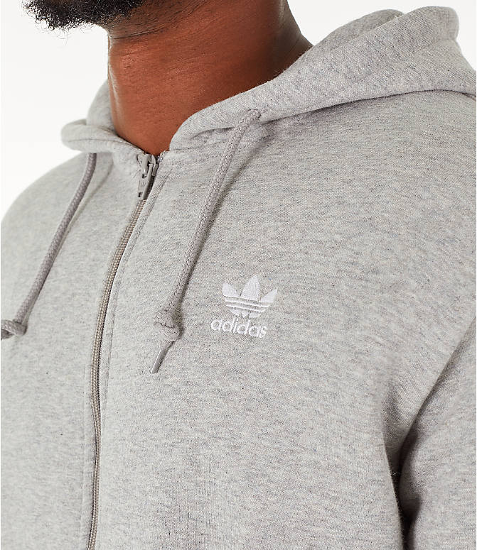 Detail 1 view of Men's adidas Originals adicolor Full-Zip Hoodie