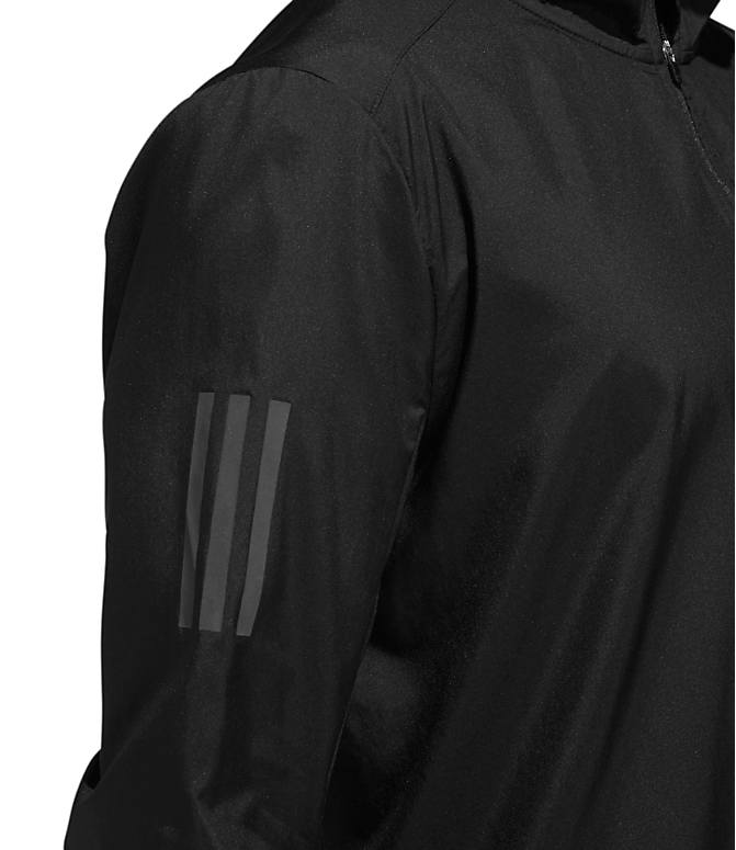 Detail 2 view of Men's adidas Own The Run Training Jacket in Black