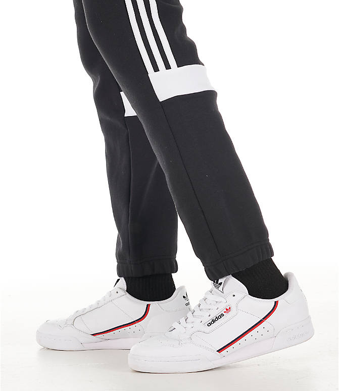 Detail 2 view of Men's adidas Originals Itasca Fleece Jogger Pants in Black