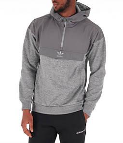Men's adidas Originals Street Run Nova Half-Zip Hoodie