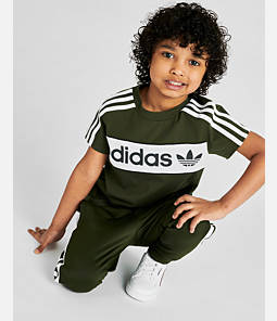 Kids' Infant and Toddler adidas Originals Long-Sleeve T-Shirt