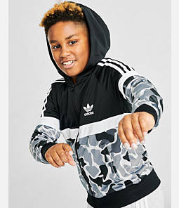 Kids' adidas Originals Camo Full-Zip Hoodie